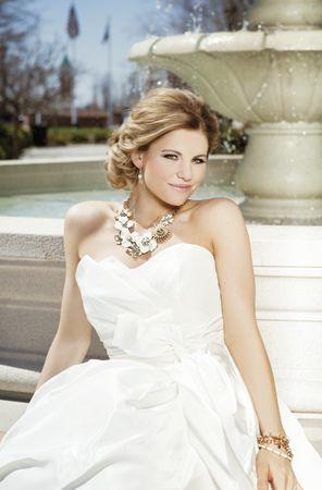 Necklace For Sweetheart Neckline Wedding Dress