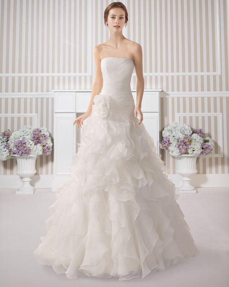 7S136 ENCANTO | Wedding Dresses | 2015 Collection | Luna Novias