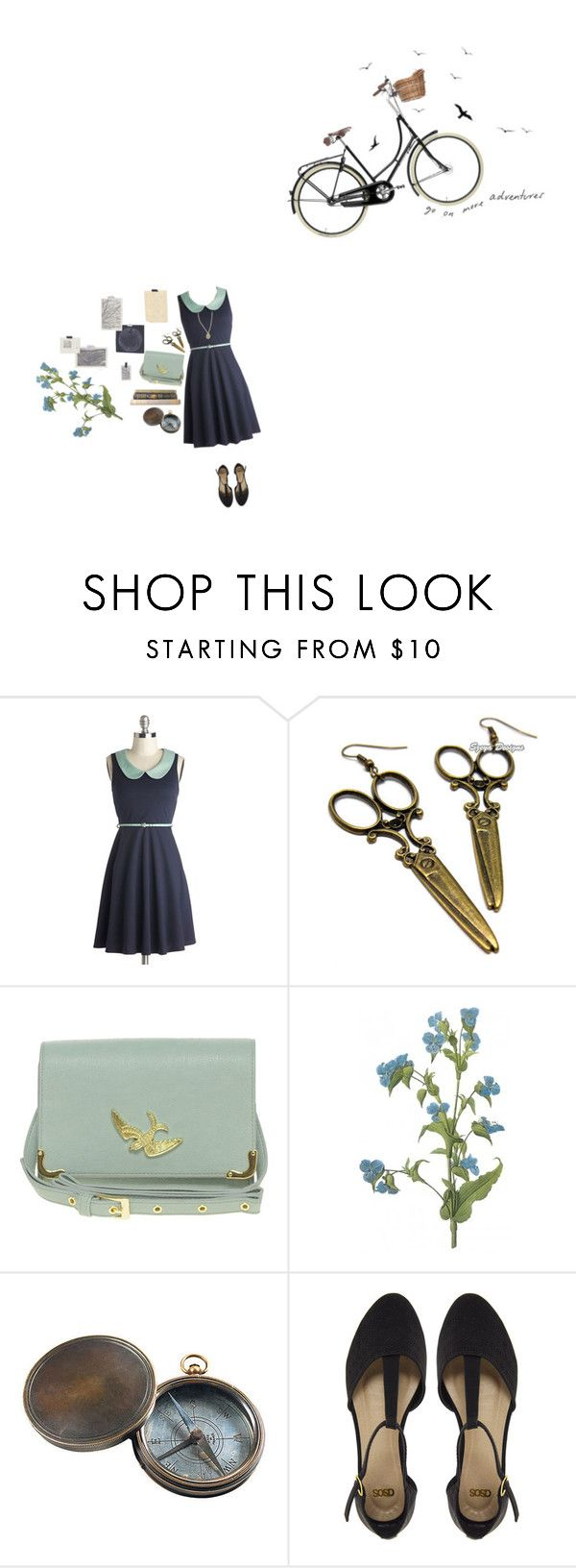 """""""More Adventures"""" by this-perfect-dream ❤ liked on Polyvore featuring ASOS, Timorous Beasties, Authentic Models, Urban Renewal, vintage, Hipster, indie, girly and plus size dresses"""