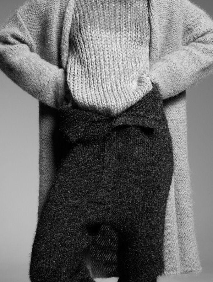 pleasebboy: 'Knitted Sensuality' Maria Loks by Amit Israeli for L'Officiel Italia December 2014