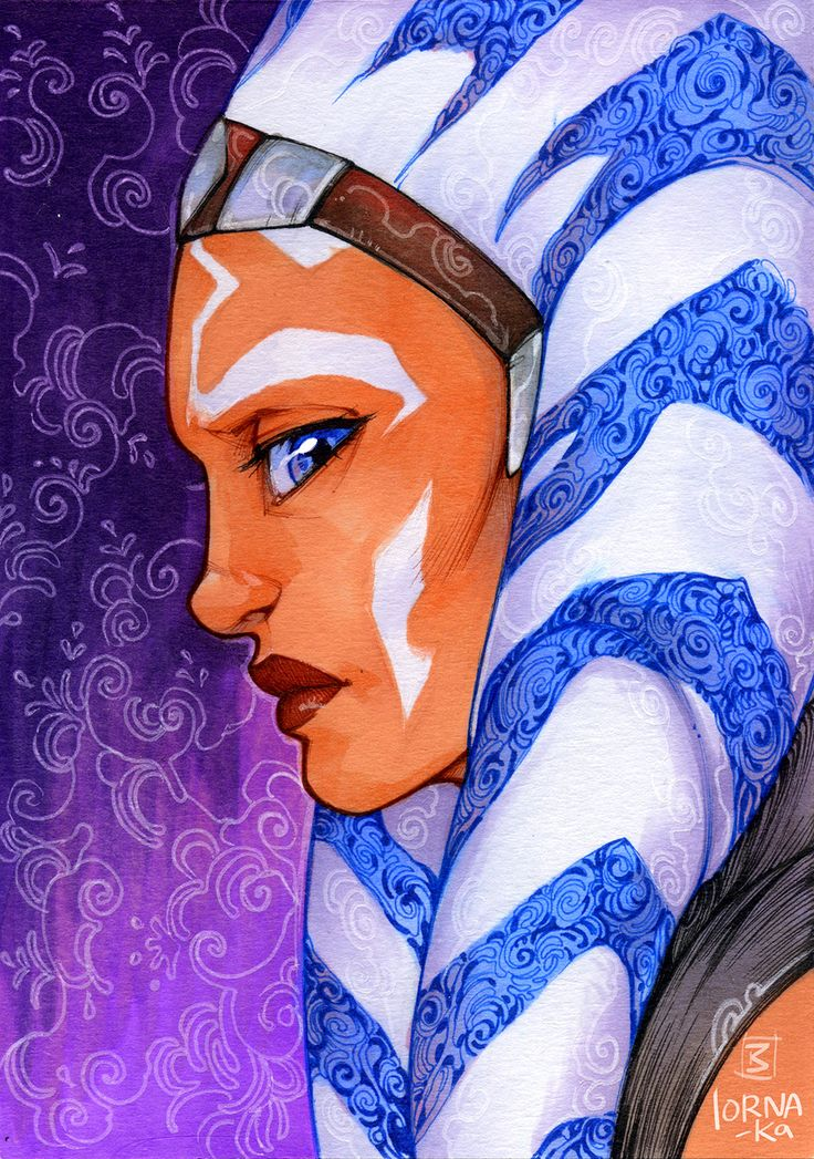 Ahsoka Tano / Fulcrum, by lorna-ka. She is so talented!