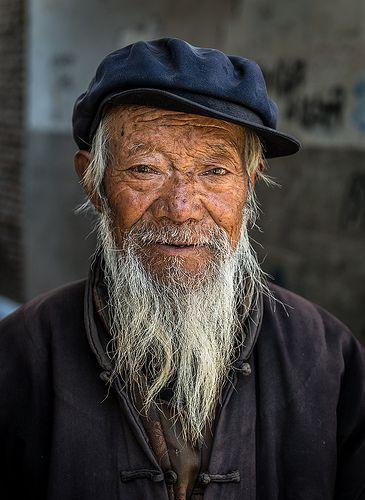 Street Beggar . Tibet