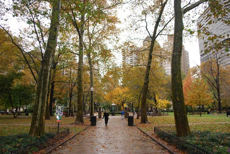 Rittenhouse Square in Philadelphia, PA