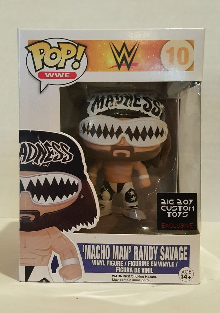 Funko Pop Custom Macho Man Wwe Wwf Randy Savage Nwo
