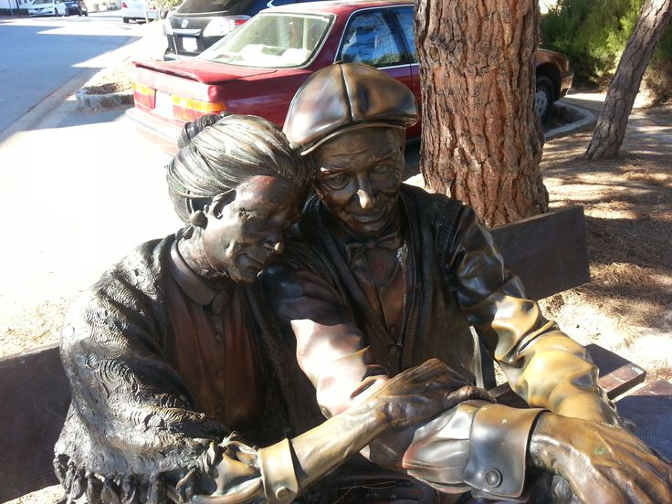 The Valentine Sculpture in Carmel by the Sea