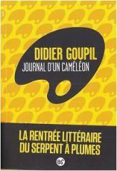 Didier Goupil pousse le lecteur dans un pot de glu, l'enfonce dans le couloir sans fin d'un être au cerveau calculateur, obsédé, privé de tout, même de l'essentiel. Kafka souffle au lecteur que « la métamorphose » n'est plus loin…