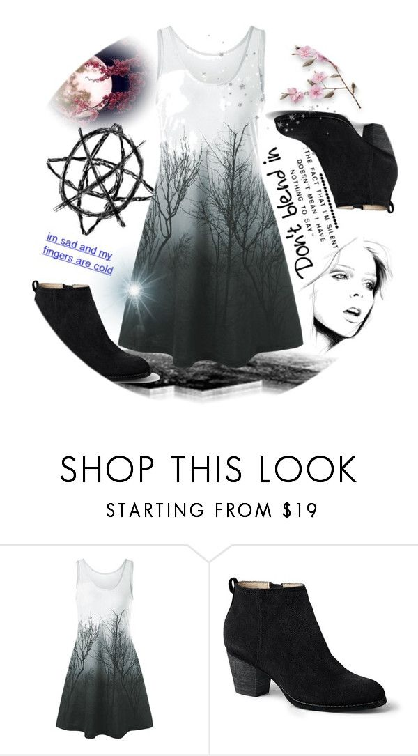 """""""Slender (man) dress  woods"""" by rose-chan-needs-a-life ❤ liked on Polyvore featuring Lands' End"""