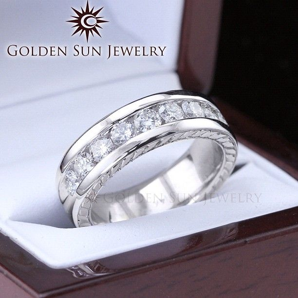 Best 25 Mens Diamond Wedding Bands Ideas On Pinterest