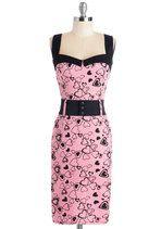 Cool Vibes Dress in Hearts | Mod Retro Vintage Dresses | ModCloth.com