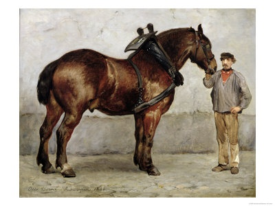 The Work Horse by Otto Bache, art.com