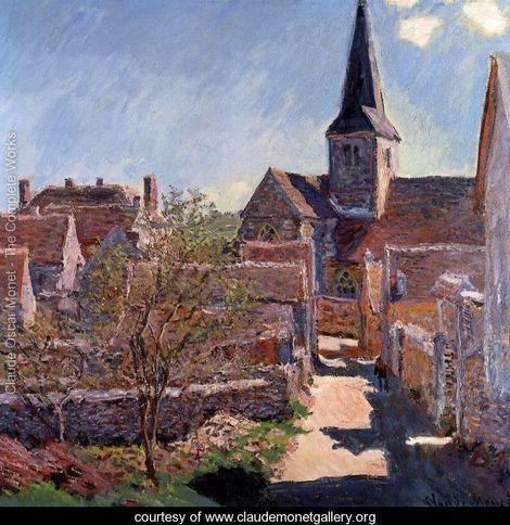 Bennecourt - Claude Oscar Monet - www.claudemonetgallery.org