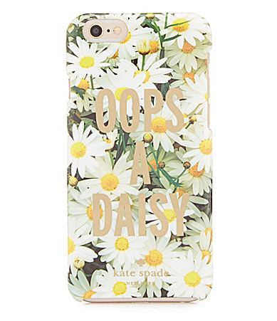 kate spade new york Oops A Daisy iPhone 6 Case #Dillards