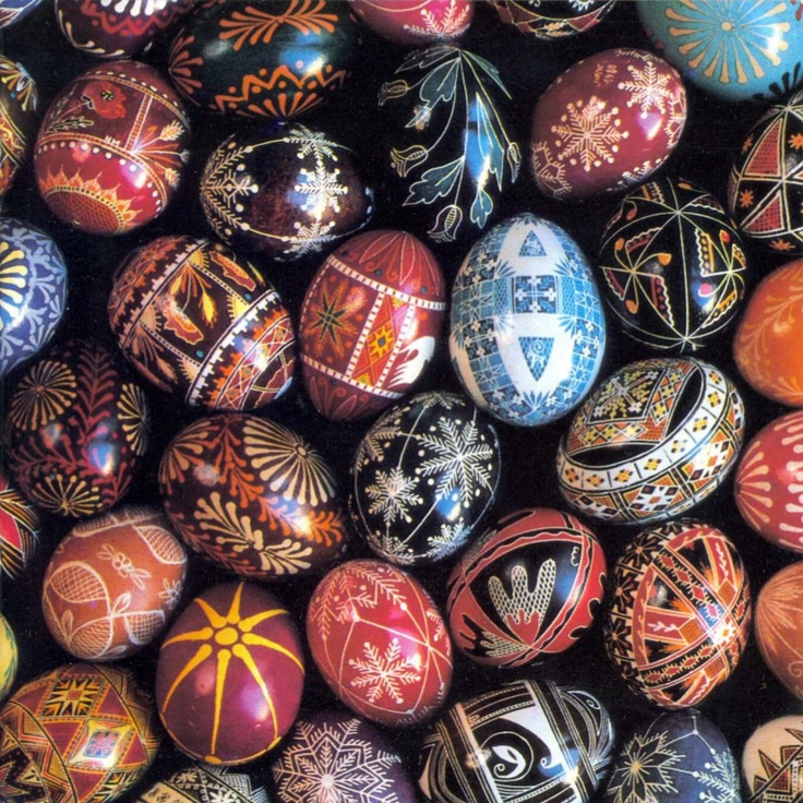 Egg Art - This little booklet produced by the American Folklife Center in 1982 is long out of print, yet still very much in demand. It gives a brief description of European egg decorating traditions and explains the techniques for producing elaborate designs. Color cover photo with black and white photos inside.  [PDF, 15 pages, 2480kb.]