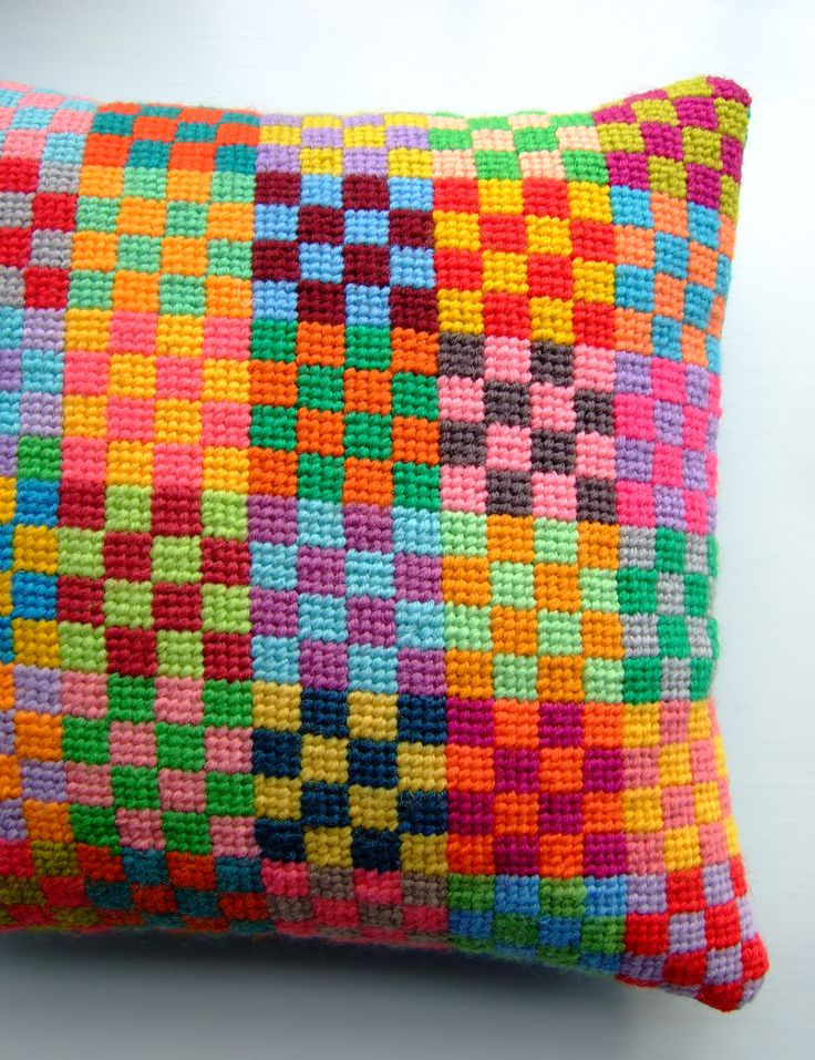 Beautiful needlepoint cushion by Jane Brocket  6a00d83451b54e69e2017d3e67d790970c-pi (2059×2678)