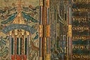 Link to lots of different Carolingian style illumination.  Cool Q and a D and... lots.