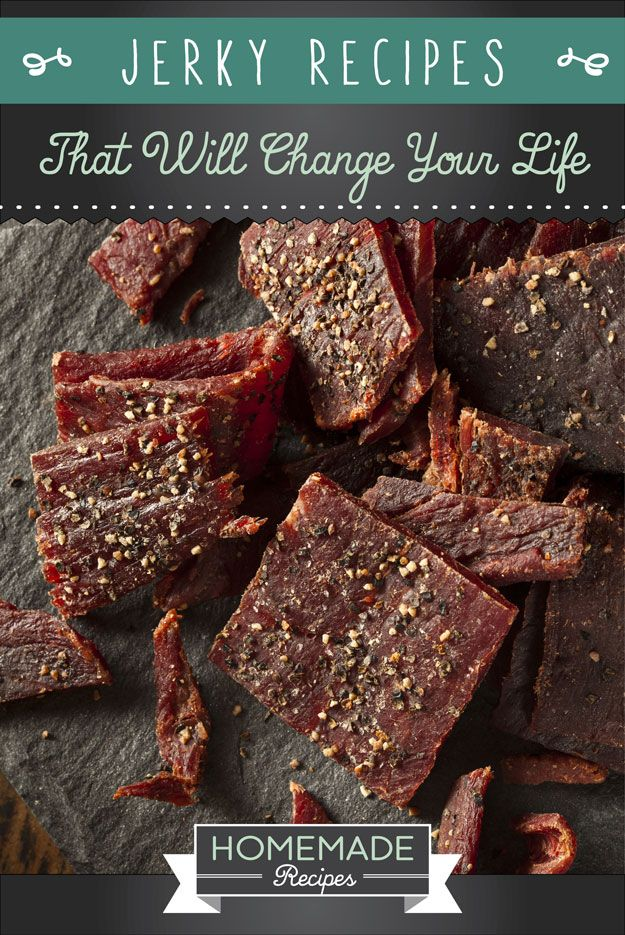 Have you ever wanted to make homemade jerky? You can with these 15 homemade jerky recipes! Don't miss recipes like spicy tofu jerky & teriyaki beef jerky!