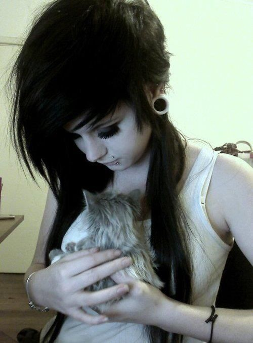 Her Kitty Ladies Pinterest Emo Girl Hairstyles