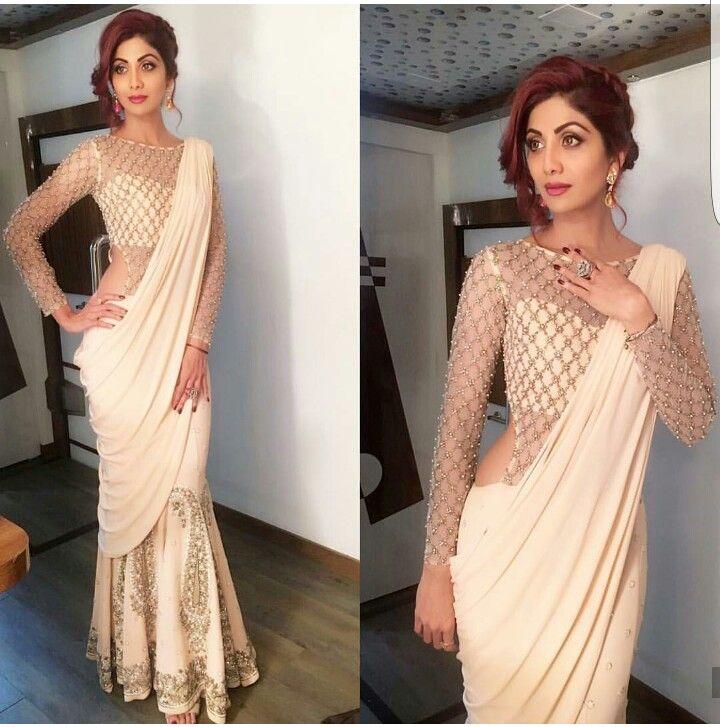 Drape saree with elegance
