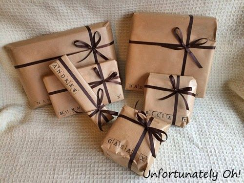 Brown Paper Packages...