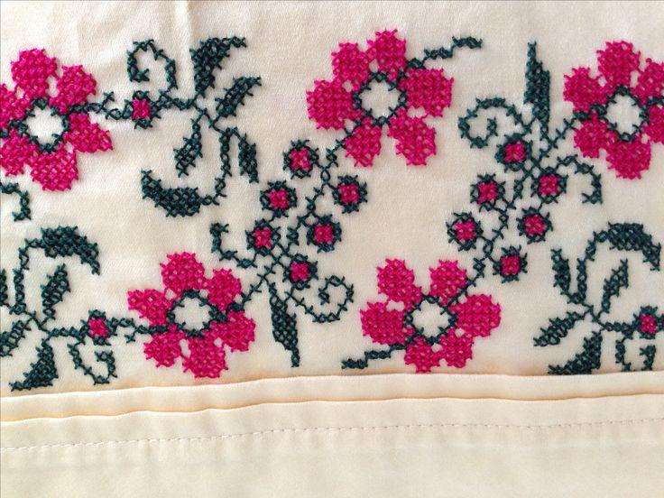 cross stitch .