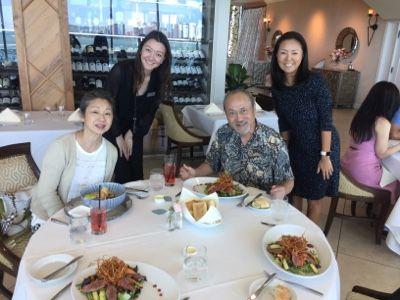 さとうあつこのハワイ不動産: 画家 絹谷幸二先生ご夫妻と楽しいひととき