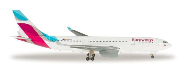 1/500 Herpa Eurowings Airbus A330-300 Diecast Model