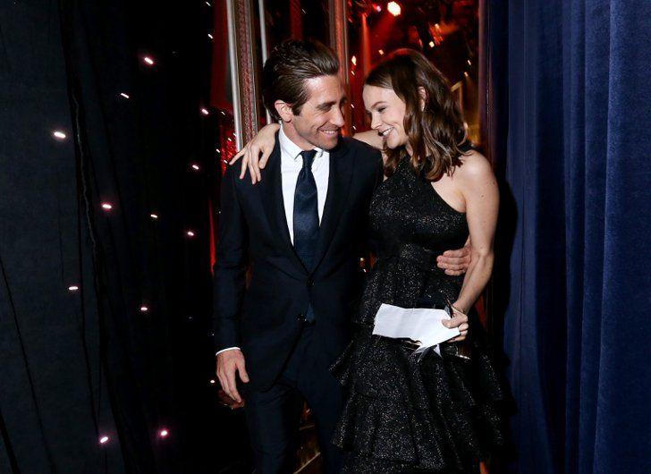 Pin for Later: La Liste des Invités des Hollywood Film Awards Était Plus Impressionnante Que Celle des Oscars Jake Gyllenhaal et Carey Mulligan