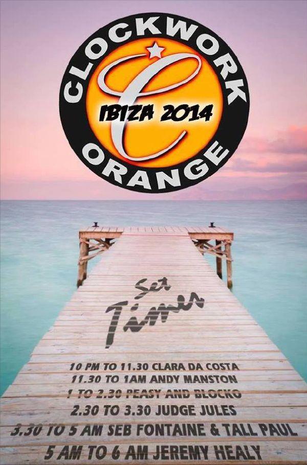 Es Paradis - ClockWork Orange