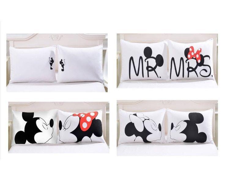 2 Pillow Cases Set - Disney's YOU & Me Pillow Cases