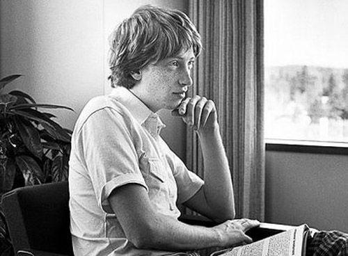 Bill Gates 2 | Rare and beautiful celebrity photos