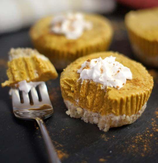 No-Bake Pumpkin Tarts (Vegan, Paleo) « Detoxinista