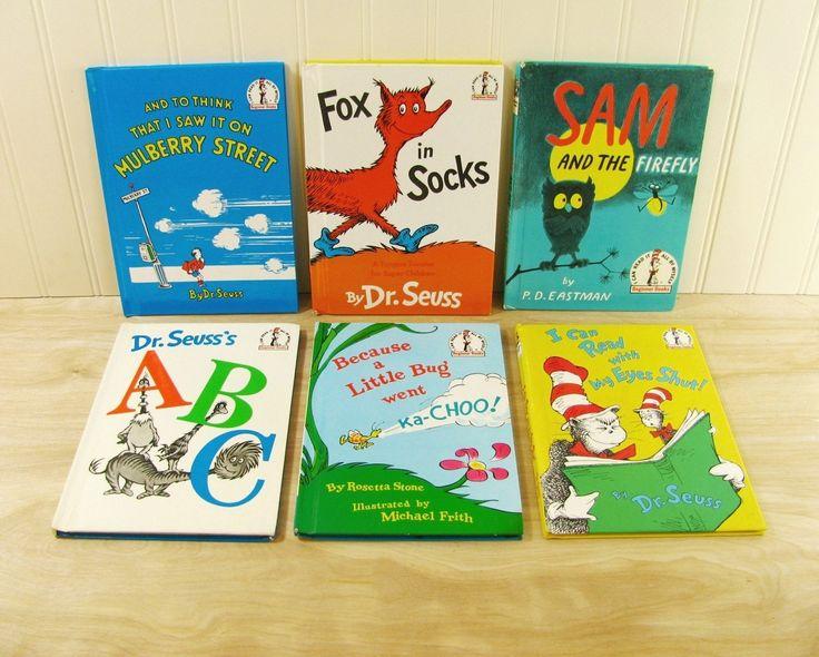 Dr Seuss Beginner Books I Can Read It All By Myself Books Dr Seuss Book Set Fox…