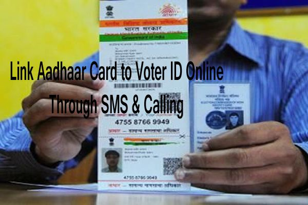 Link Aadhaar Card to Voter ID- EPIC Card Seeding Online