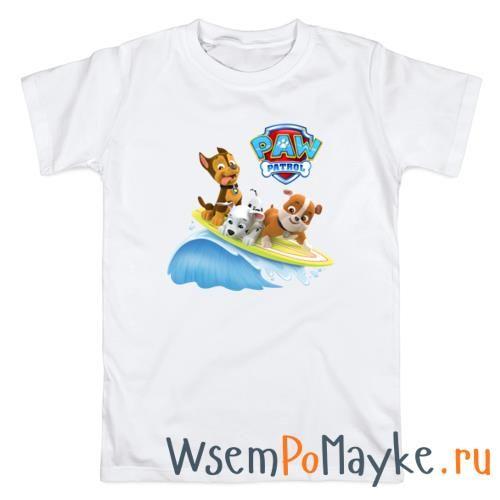 Мужская футболка Щенячий патруль купить в интернет магазине WsemPoMayke.Ru http://wsempomayke.ru/product/manshort/1074775  Доставка по России курьером или почтой, оплата при получении. Посмотреть размеры и цену > http://wsempomayke.ru/product/manshort/1074775
