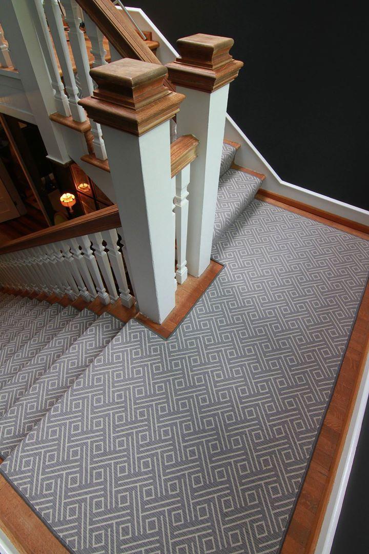 Best Stanton Vizio In Flannel Stair Runner Carpet Carpet 400 x 300