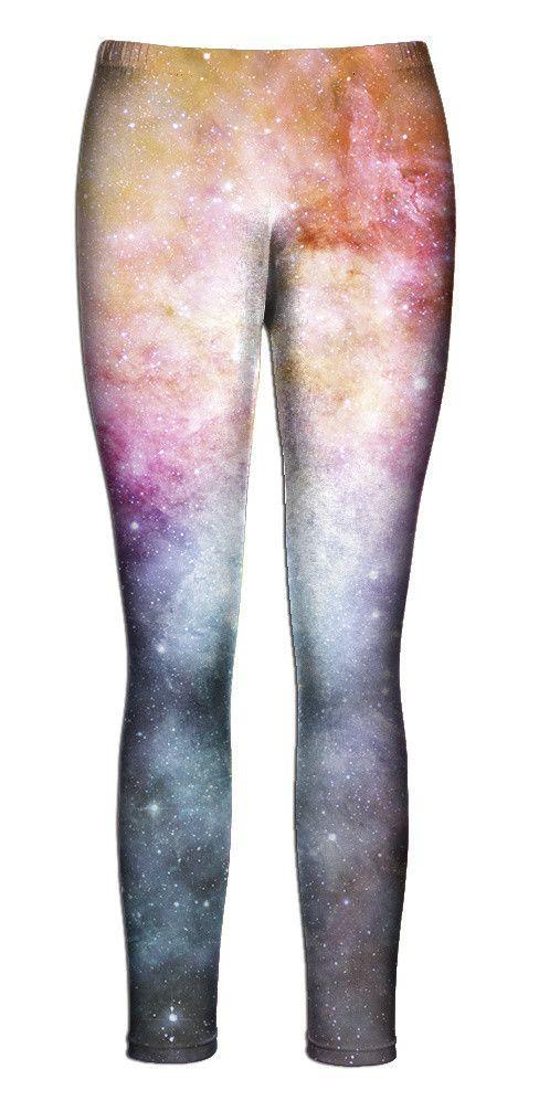 Pastel Nebula Leggings