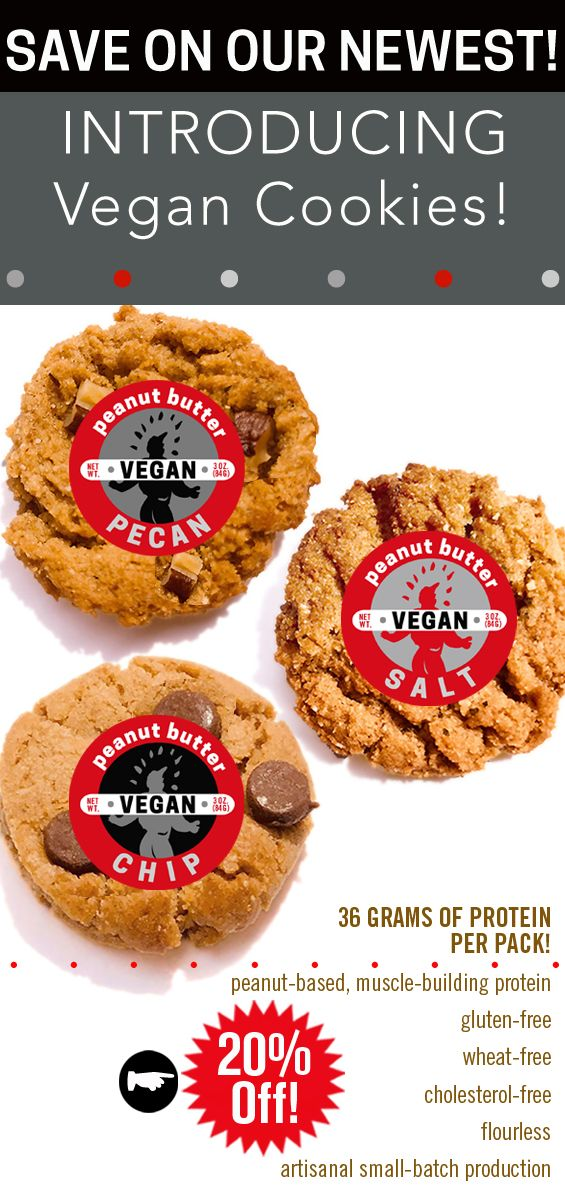 Our 3 New Vegan Cookies A 3 Pack Of Goodness Packs 36 Gms Of Protein On Sale Peanutbutter Protein Vegan Seasalt C Vegan Cookies Vegan Pecan Vegan Chips