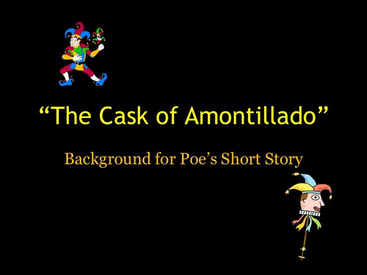 38 best the cask of amontillado images on Pinterest | Edgar allan ...