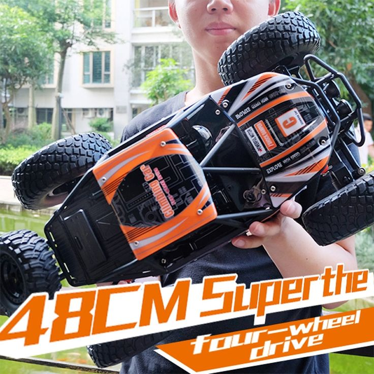 97.99$  Watch now - http://aliy0u.shopchina.info/1/go.php?t=32818246248 - MZ RC Car 4WD 2.4GHz Rock Crawlers Rally climbing Car Remote Control Model Off-Road Vehicle Toy 1:10 Oversized 48cm Bigfoot Car  #SHOPPING