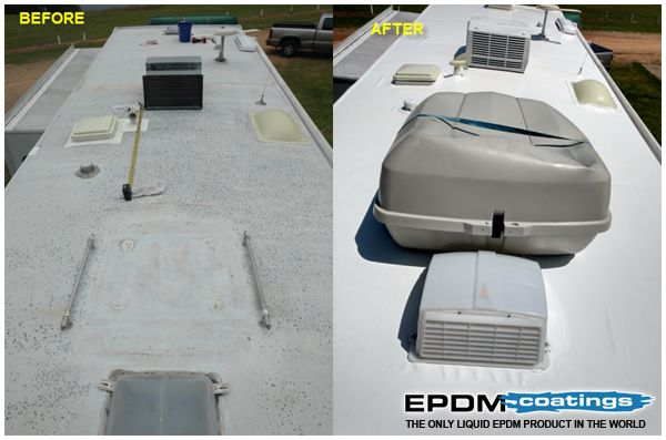 67 best liquid roof rv repair images on pinterest liquid roof roof coating and roof leak repair. Black Bedroom Furniture Sets. Home Design Ideas