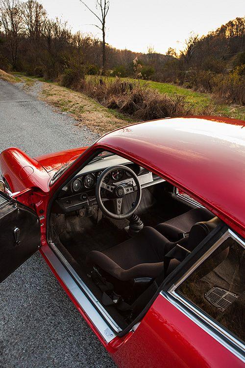 Dario Franchitti and his 1973 Porsche 911E hot rod