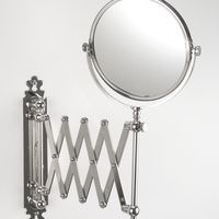 Thomas Crapper Extendable Shaving Mirror