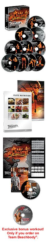 INSANITY Review workouts to lose weight fast and burn fat and max calories