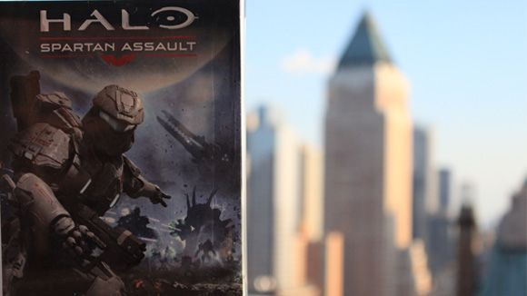 We are Windows 8! Microsoft and Halo launch a Spartan Assault | Microsoft surfaces in New York for a Halo Reinvented event to launch its new Windows 8 and Windows Phone 8 exclusive. Buying advice from the leading technology site