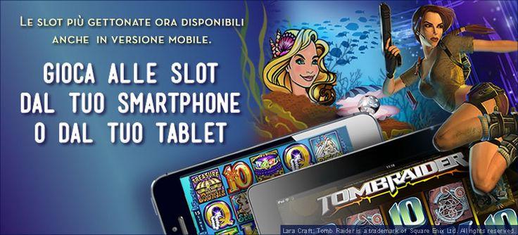Le #slot #online sempre disponibili al #casino #mobile per divertirsi un mondo!