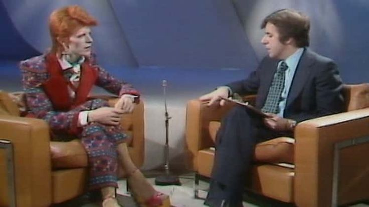 Interview with Russell Harty 1973