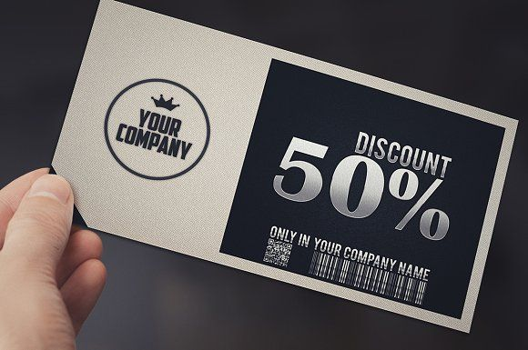 Stylish simple GIFT VOUCHER by Tzochko on @creativemarket