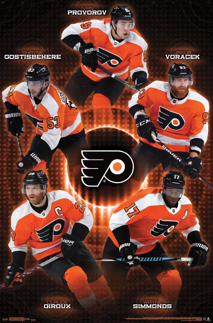 Philadelphia Flyers Team in 2020 (With images