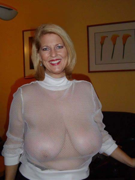 Busty see through top love Vannah