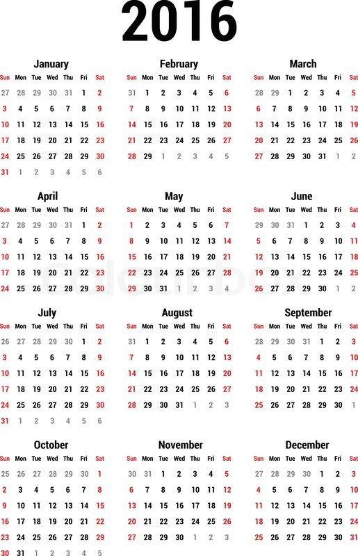 Calendar Printable With Holidays